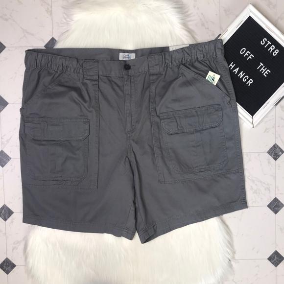 croft & barrow Other - NWT croft & barrow side-elastic cargo shorts sz 48